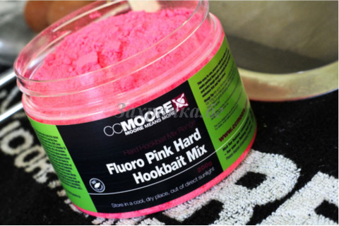 Fluoro Pink Hard Hookbait Mix