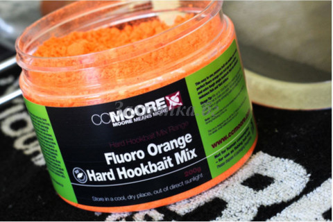 Fluoro Orange Hard Hookbait Mix